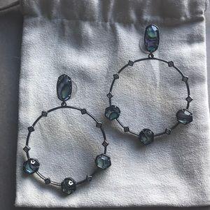 Sheila Color Bar earrings in Abalone